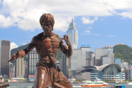 Statue Bruce Lee Hong-Kong